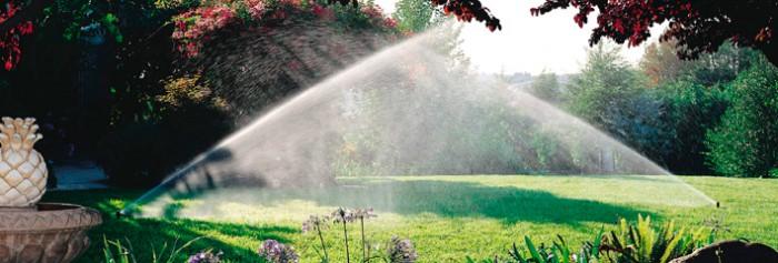 Beregeningsinstallatie voor de tuin